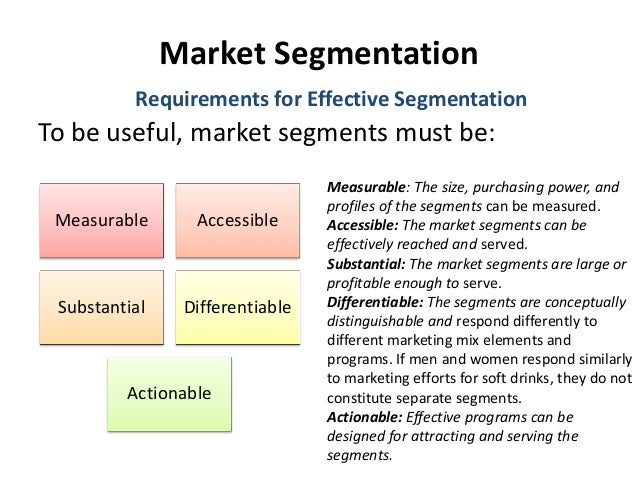 which customer characteristics and segmentation variables does nokia use Market segmentation based on the correlation between the customers' satisfaction and their loyalty dumitrescu luigi, professor, phd faculty of economic sciences.