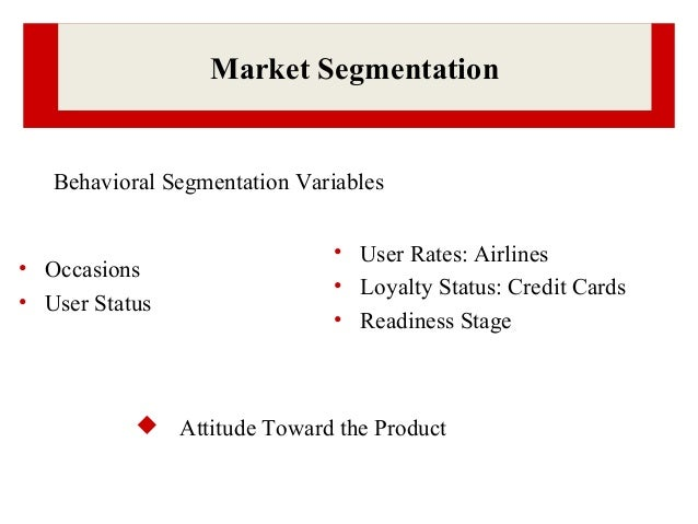 marketing segmentation and strategy on the example of a personal jetpack product Today, segmentation, targeting and positioning (stp) is a familiar  in the  1950s, for example, the main marketing strategy was 'product differentiation'   for its varied customer groups ranging from individual consumers to.