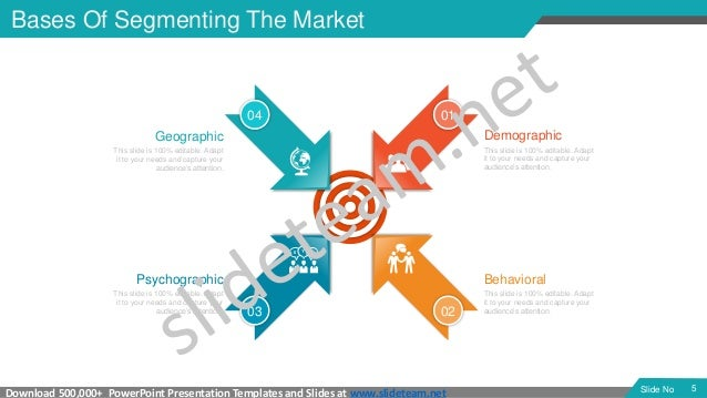 segmentation, targeting & positioning model powerpoint presentation t…, Modern powerpoint