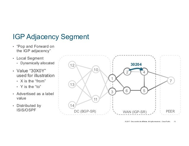 Segment Routing Technology Deep Dive and Advanced Use Cases