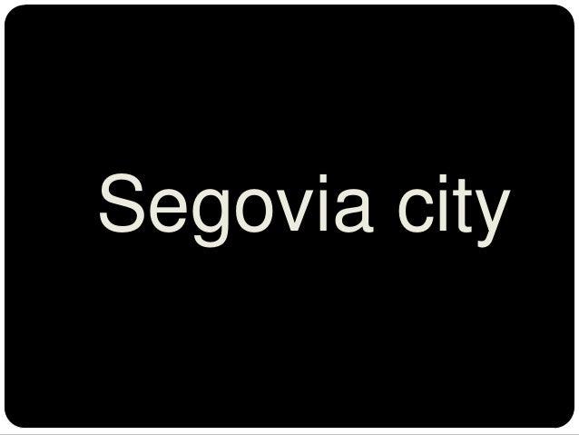 Segovia city