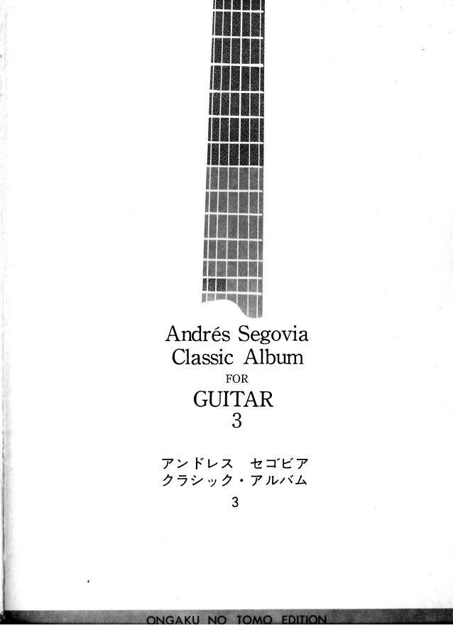 "ffiiln[HI $$HHfiffiil $$HffiHHil $wwKKw$ $wwwwwK $wwwwwK XWWKWKX AndresSegovia ClassicAlbum FOR GUITAR 3 7 > F""t-z 'lz=""e7..."