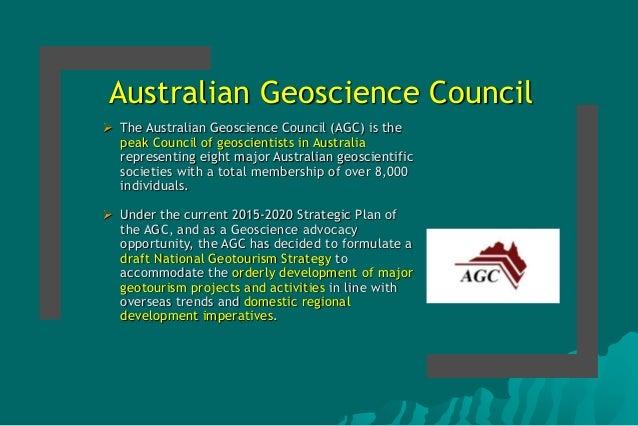 Strategic Directions for Geotourism Development in Australia Slide 2