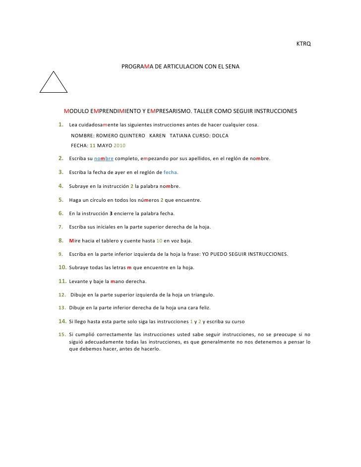 KTRQ                               PROGRAMA DE ARTICULACION CON EL SENA          MODULO EMPRENDIMIENTO Y EMPRESARISMO. TAL...