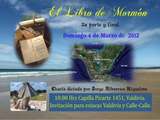 Bienvenidos Esta no es una presentación oficial de La Iglesia de Jesucristo de los Santos de los Últimos Días.