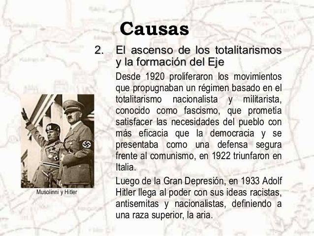 Causas 3.3. El AnschlussEl Anschluss Bajo las ideas de Adolf Hitler sobre una Gran Alemania, luego de la caída de la monar...