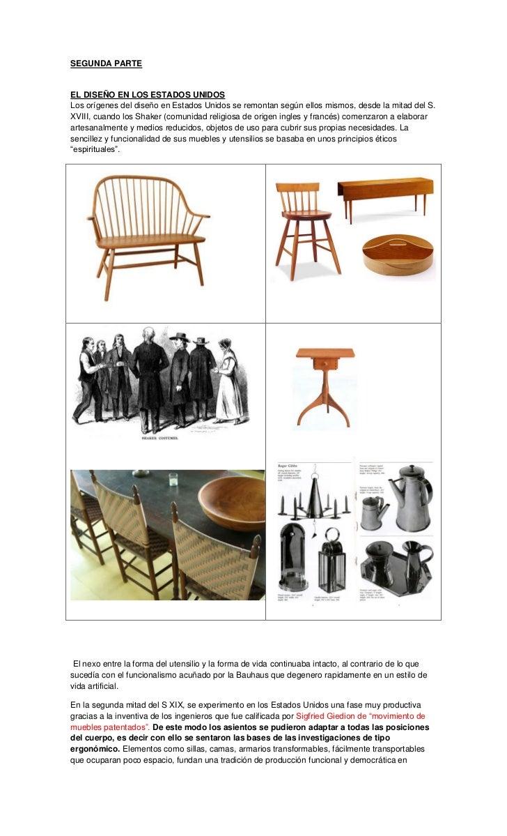 Segunda Parte # Muebles Bauhaus Caracteristicas