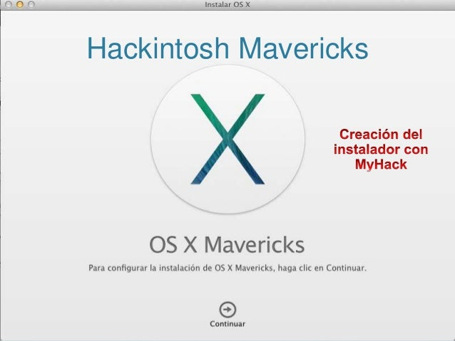 Hackintosh Mavericks