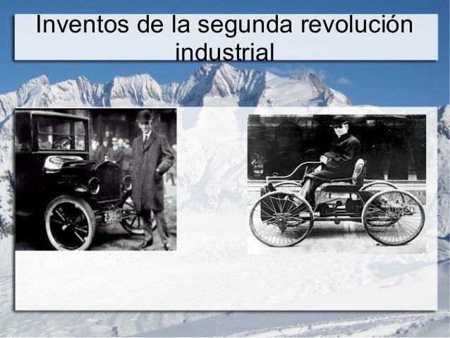 2 inventos de la revolucion industrial