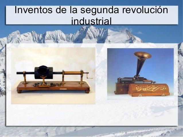 6 inventos de la segunda revolucion industrial