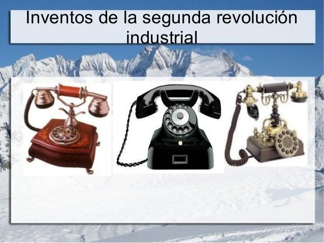 8 inventos de la primera revolucion industrial