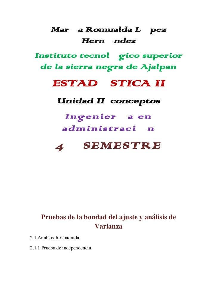 María Romualda López               Hernández  Instituto tecnológico superior   de la sierra negra de Ajalpan          ESTA...
