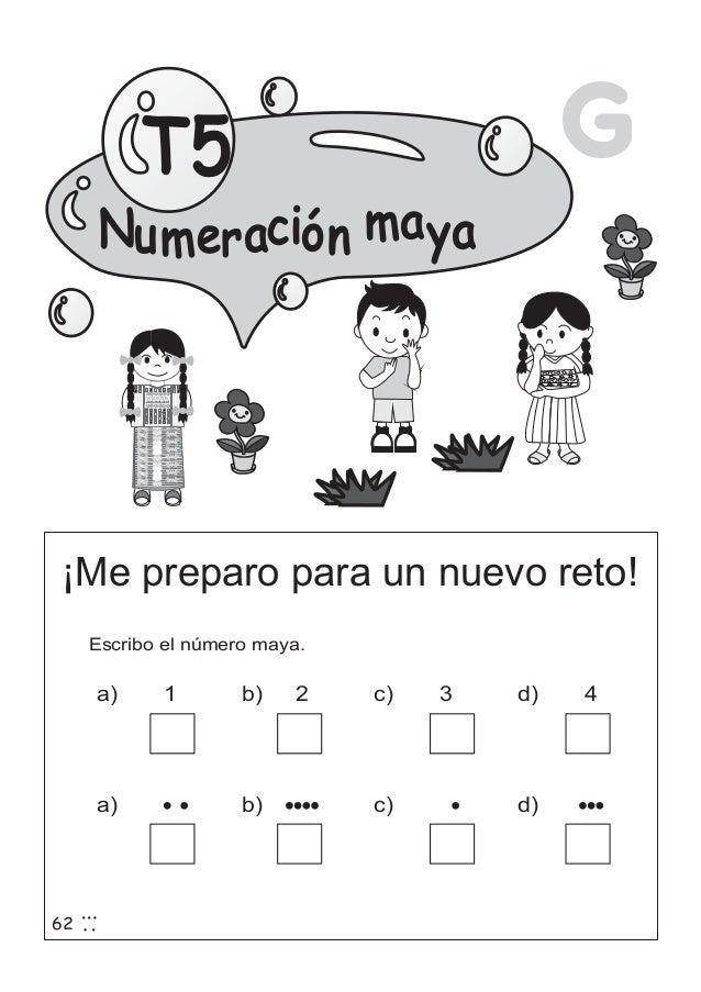 Guía de matemáticas para segundo grado (ejercicios)
