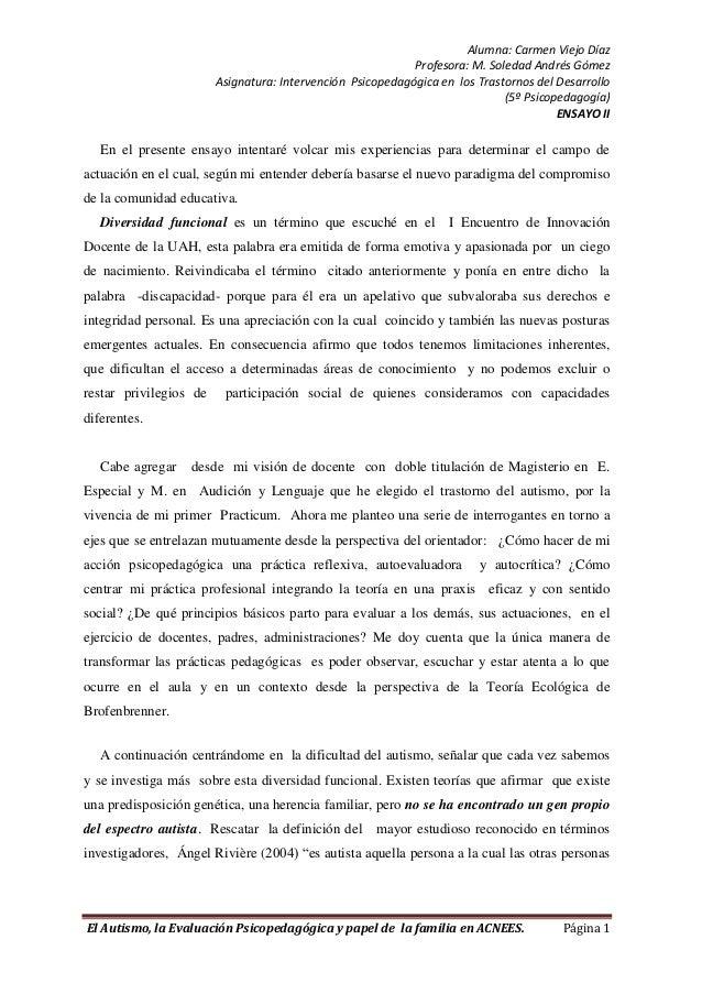 Alumna: Carmen Viejo Díaz                                                            Profesora: M. Soledad Andrés Gómez   ...