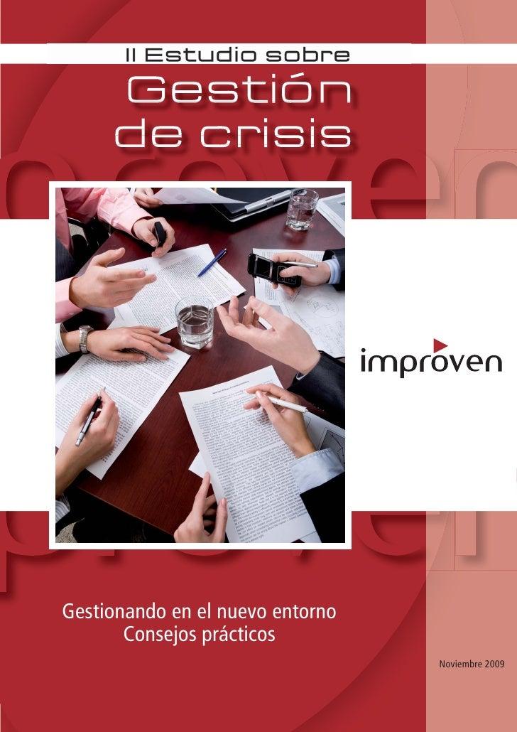 Gestionando en el nuevo entorno        Consejos prácticos                                   Noviembre 2009