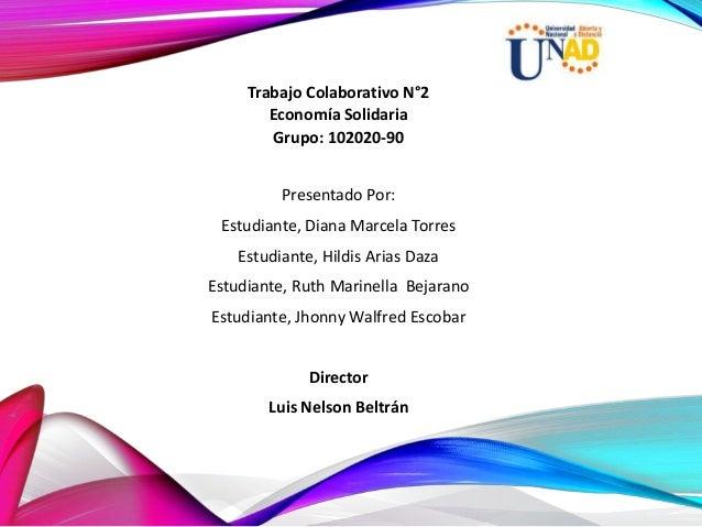 Presentado Por: Estudiante, Diana Marcela Torres Estudiante, Hildis Arias Daza Estudiante, Ruth Marinella Bejarano Estudia...