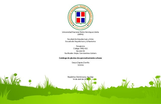 Catálogo de Plantas Slide 2