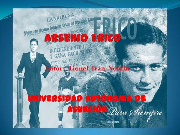 Autor: Lionel Iván NoldinUniversidad Autónoma de        Asunción