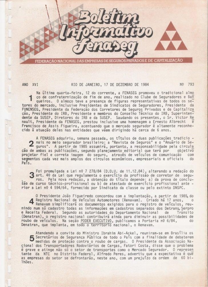ANO      XVI                   RIO DE   JANEIRO, 17 DE DEZEMBROE 1984                                                     ...