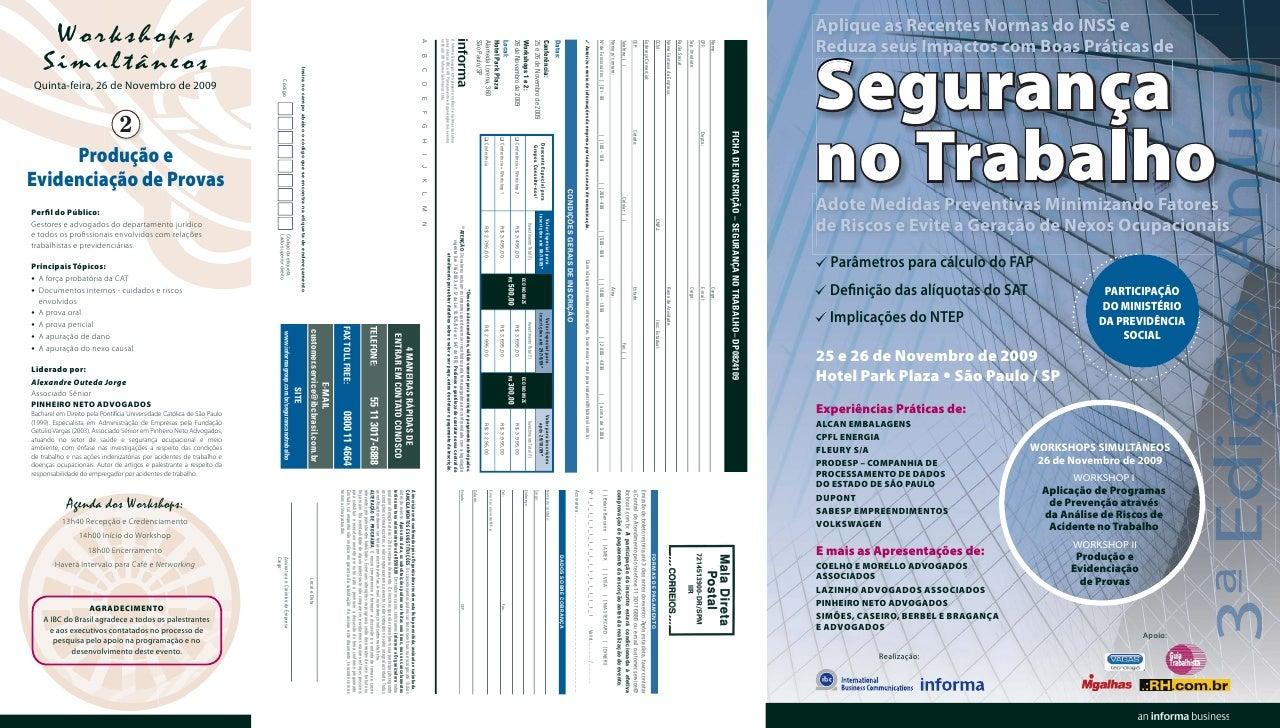 Aplique as Recentes Normas do INSS e Reduza seus Impactos com Boas Práticas de   Segurança no Trabalho Adote Medidas Preve...