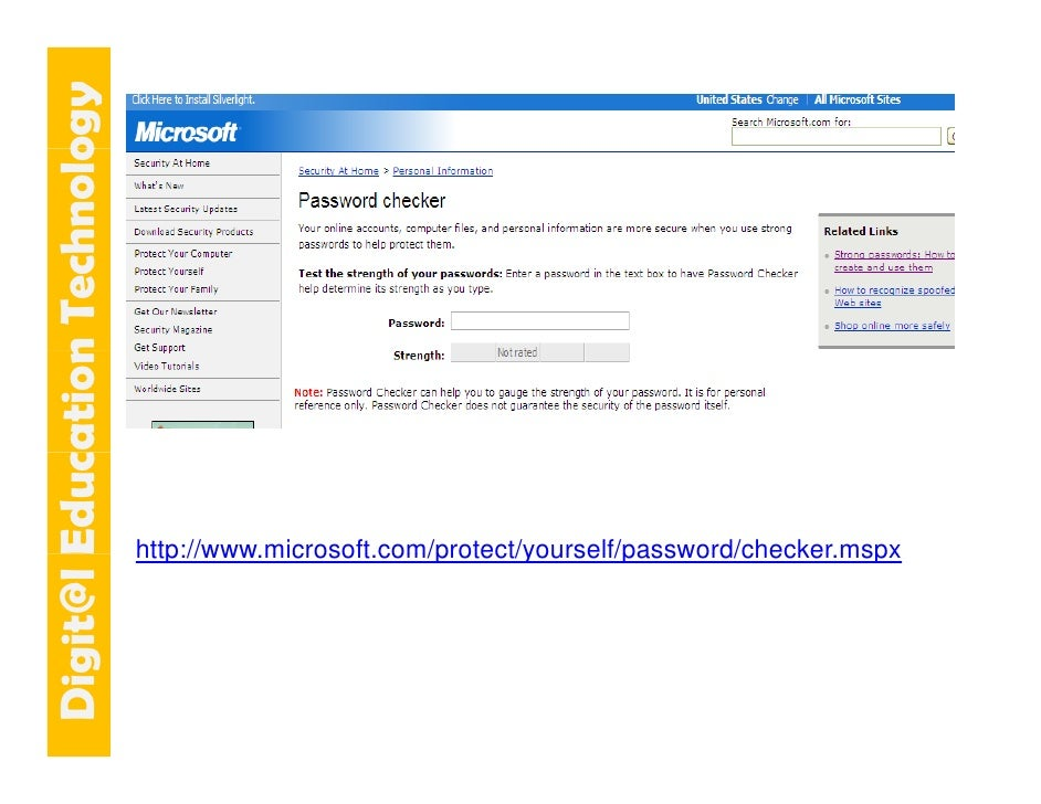 E cation Tech ogy   git@l Educ   n    hnolo                                 http://www.microsoft.com/protect/yourself/pass...