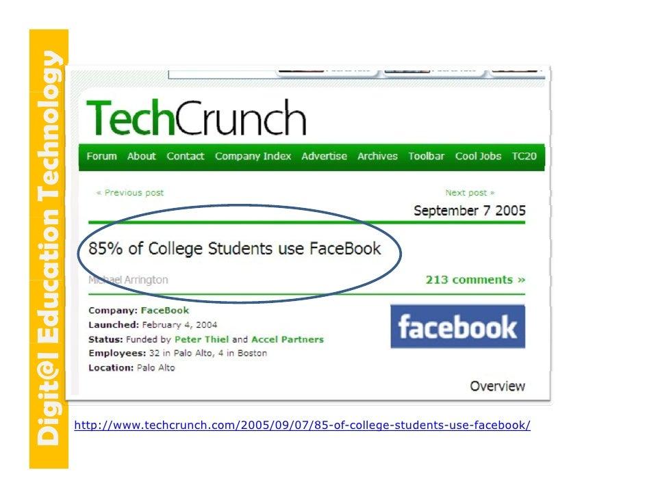 E cation Tech ogy   git@l Educ Dig            n    hnolo                                 http://www.techcrunch.com/2005/09...