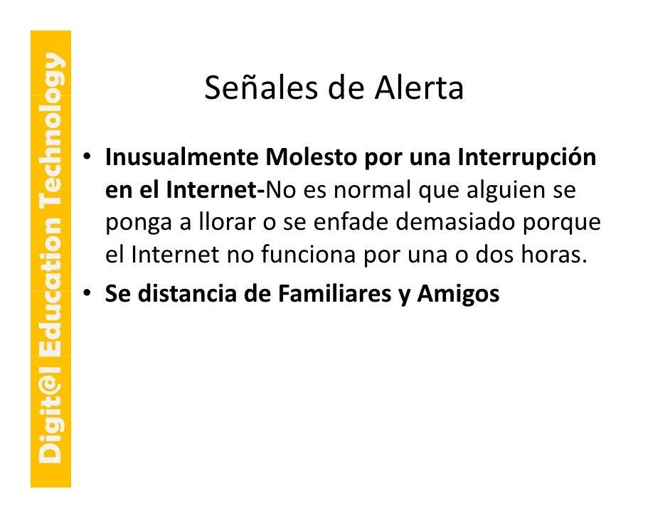 E cation Tech ogy                                       SeñalesdeAlerta                                       Señales de...