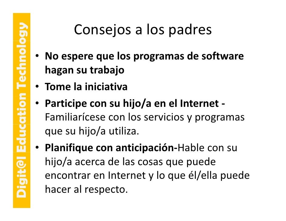 E cation Tech ogy                                     Consejosalospadres                     hnolo                     ...