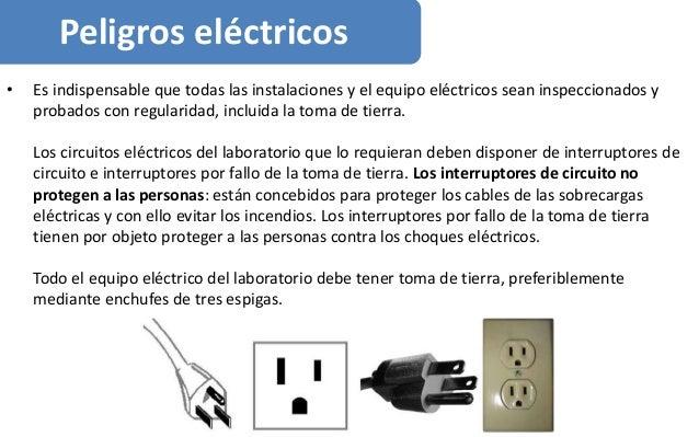 • Es indispensable que todas las instalaciones y el equipo eléctricos sean inspeccionados y probados con regularidad, incl...