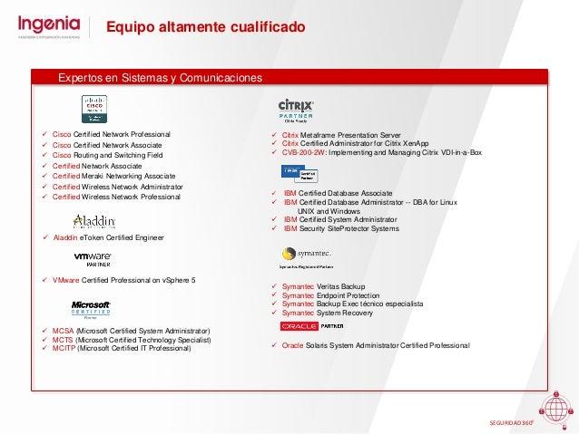 Las mejores referencias SEGURIDAD 360º Sector Privado Sector Financiero y Seguros Industria y Retail Transporte y energía ...