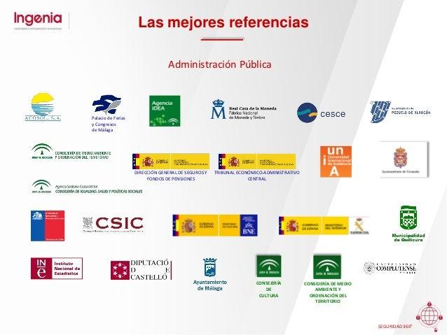 Contactos MÁLAGA C/Severo Ochoa, 43 Parque Tecnológico de Andalucía T.: (34) 952 02 93 00 e-mail: info@ingenia.es SEVILLA ...