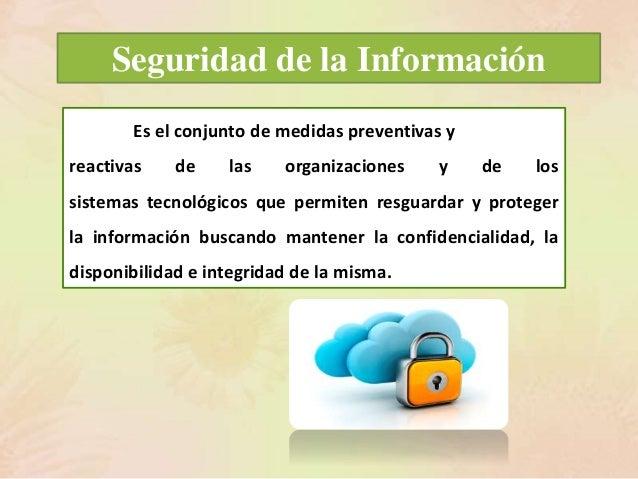 Seguridad de la Informacion Slide 2