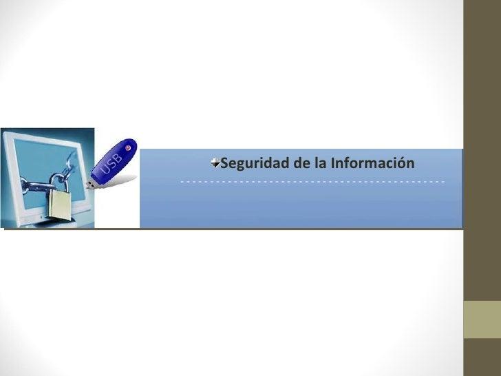 Seguridad de la Información---------------------------------------------