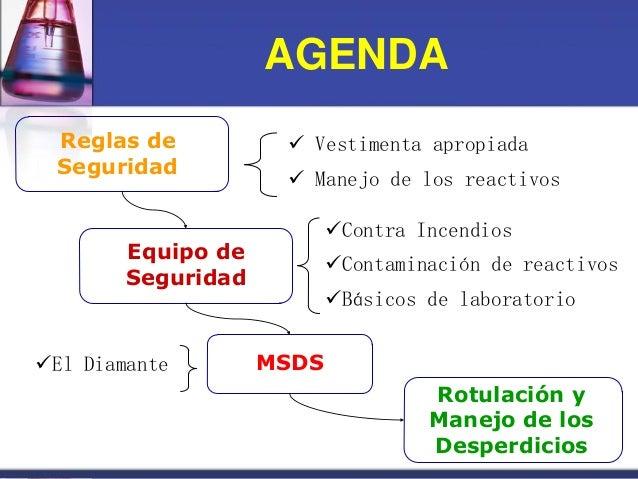 Seguridad en el laboratorio nivel superior-prof. aida n. mendez 12 oct. 2012 Slide 2