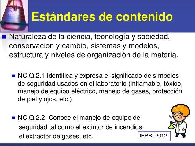 Seguridad en el laboratorio nivel superior-prof. aida n. mendez 12 oct. 2012 Slide 3