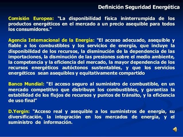 """Comisión Europea: """"La disponibilidad física ininterrumpida de los productos energéticos en el mercado a un precio asequibl..."""