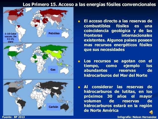  El acceso directo a las reservas de combustibles fósiles es una coincidencia geológica y de las fronteras internacionale...