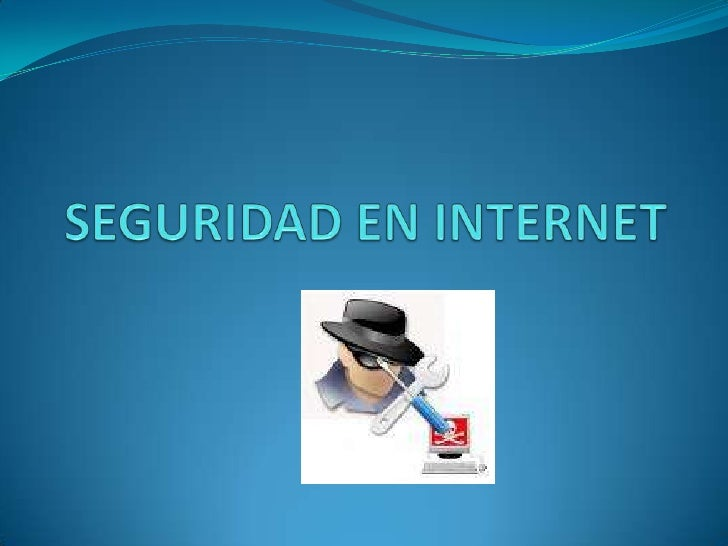 SEGURIDAD EN INTERNET<br />