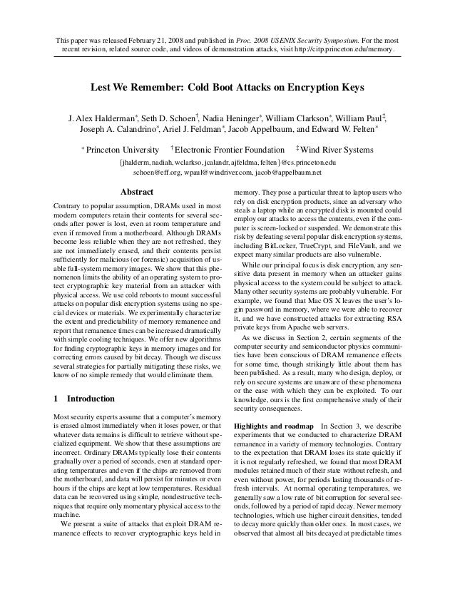 This paper was released February 21, 2008 and published in Proc. 2008 USENIX Security Symposium. For the most recent revis...