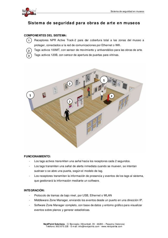 Sistema de seguridad en museos - Sistemas de seguridad ...