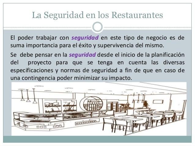 Seguridad En Restaurantes