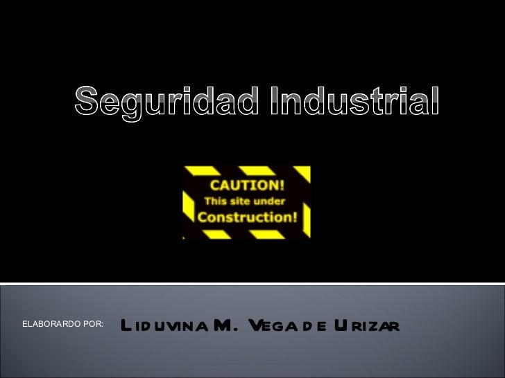 ELABORARDO POR:  Liduvina M. Vega de Urizar