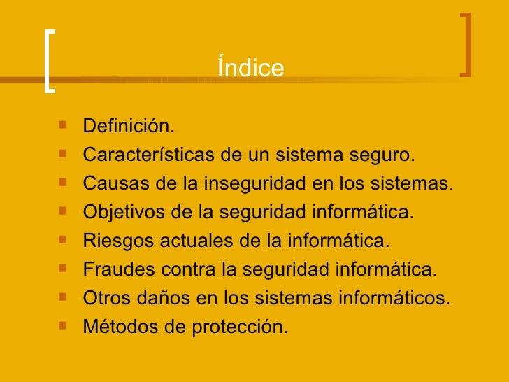 Seguridad informática Slide 2