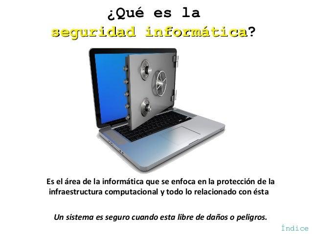 Seguridad informática Slide 3