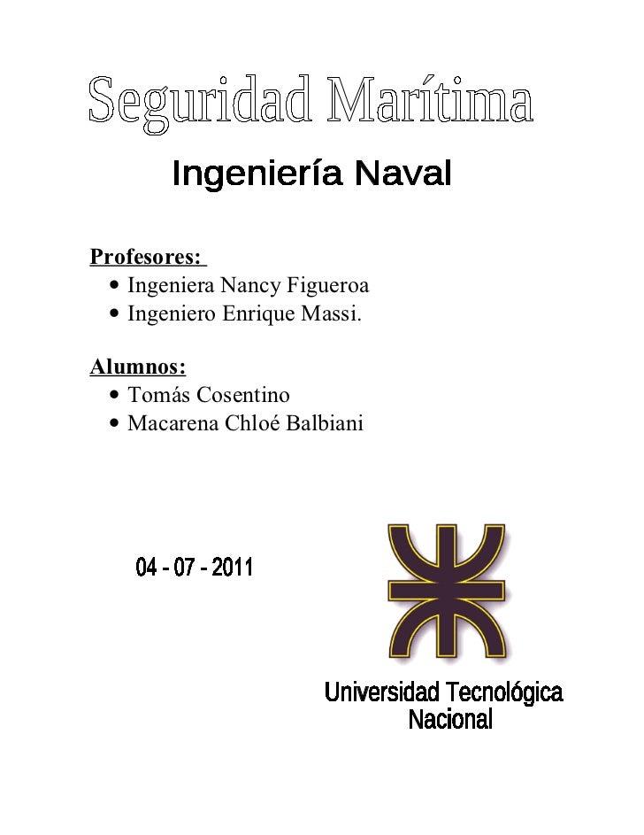 Profesores: • Ingeniera Nancy Figueroa • Ingeniero Enrique Massi.Alumnos: • Tomás Cosentino • Macarena Chloé Balbiani