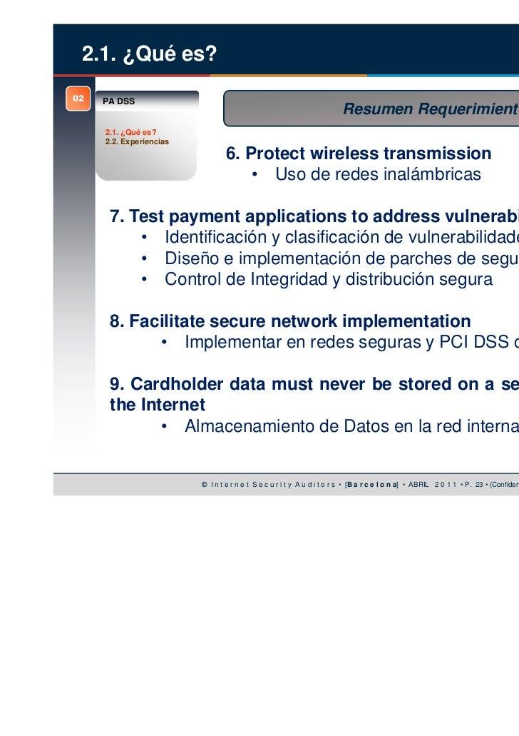 Owasp Internet Of Things Project: Seguridad OWASP En La Certificación PA-DSS De Aplicaciones