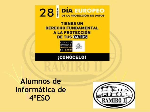 Alumnos deInformática de    4ºESO