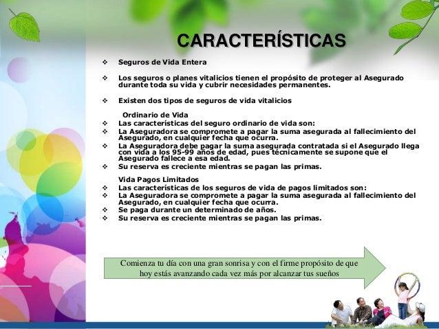 d6f6fcaa639f5 CARACTERÍSTICAS  Seguros ...