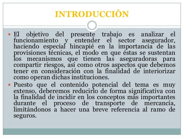 Seguros de  transporte internacional Slide 2