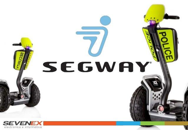 SEGWAY I2 & X2 Estudado e concebido de acordo com as necessidades especiais das forças de Policiamento e de Segurança e Vi...
